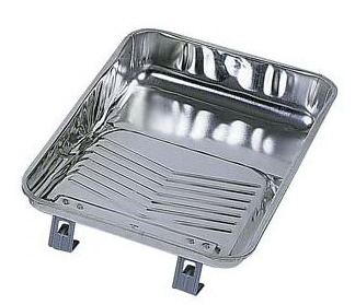 1 metal roller tray