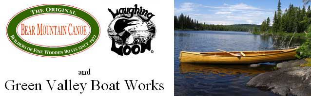 Bear Mountain Boatworks, Green Valley Boatworks & Laughing Loon