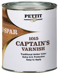 Z SPAR CAPTAINS VARNISH QUART #1015