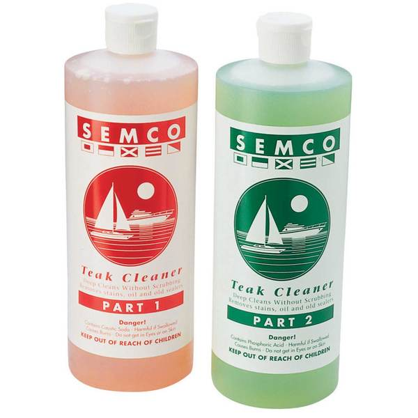 SEMCO 2 PART TEAK CLEANER 2 PINT KIT