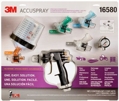3M Accuspray One Spray Gun System with Standard PPS