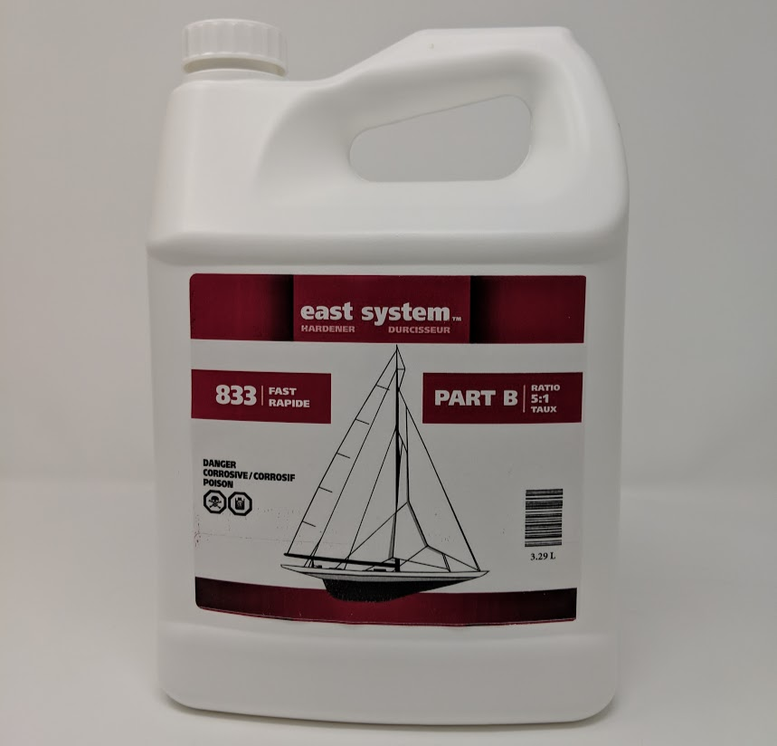 east system epoxy resin part a 16 64 l (5 gallons) : 1032c