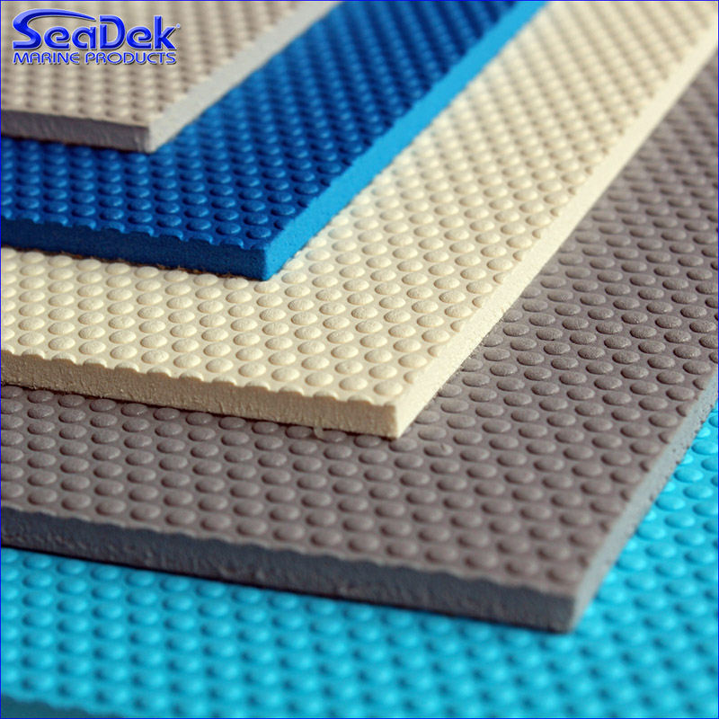 "SEADEK 39"" X 77"" 5MM CARIBBEAN BLUE"