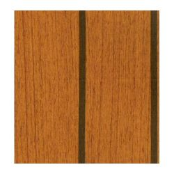Lonseal Lonwood Marine Flooring Teak & Ebony 6 Ft Wide