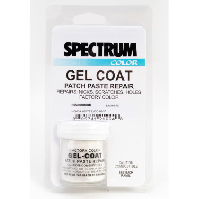 2 OZ PASTE GELCOAT MATCH KIT / SEARAY / 1994-2003 / ARCTIC WHITE